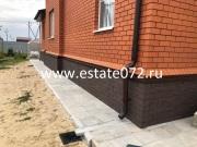 Монтаж цокольных панелей Stein Дёке в Тюмени