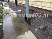 Монтаж фасадных панелей Docke-R Burg земляной
